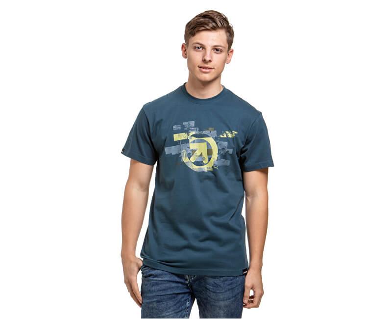 Meatfly Pánske tričko Bend C- Dark Slate