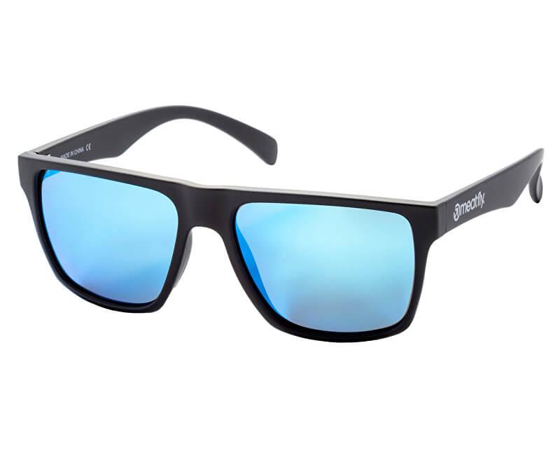 Meatfly Polarizačné okuliare Trigger 2 A-Black Matt, Blue