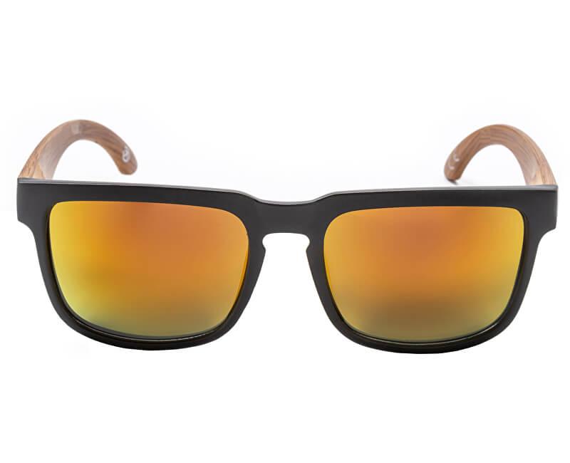 Meatfly Slnečné okuliare Memphis 2 D-Black, Wood