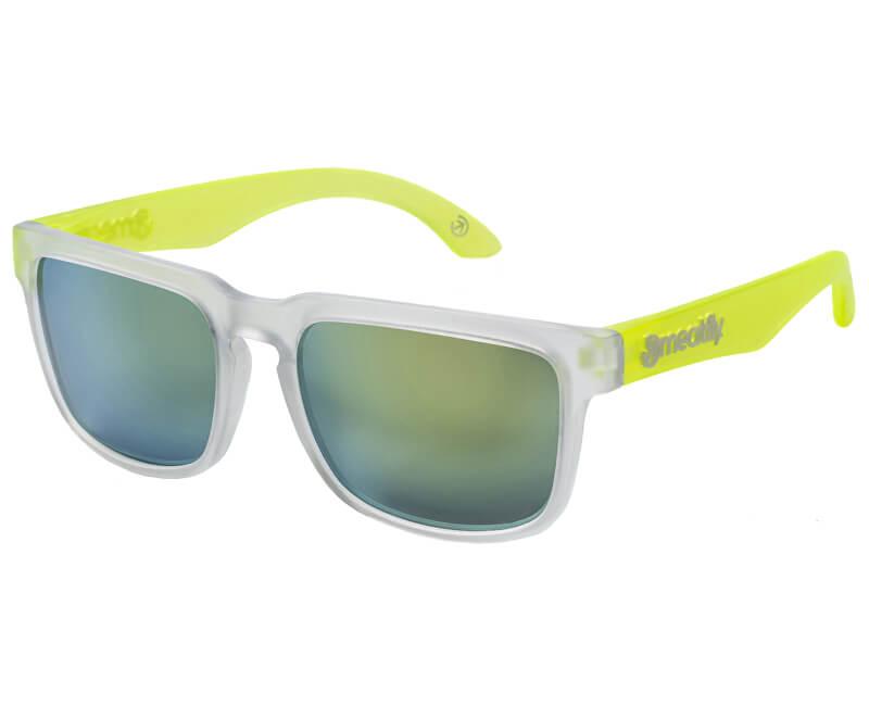 Meatfly Slnečné okuliare Memphis 2 G-Clear, Lime