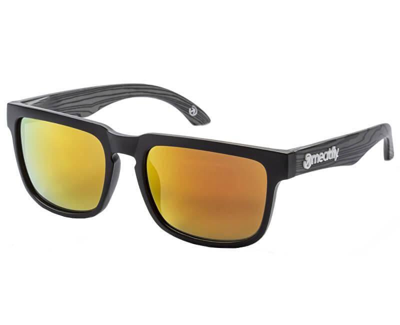 Meatfly Slnečné okuliare Memphis 2 H-Black, Dark Wood