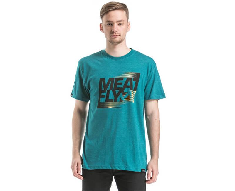 Meatfly Triko Flux T-shirt D - Heather Jade