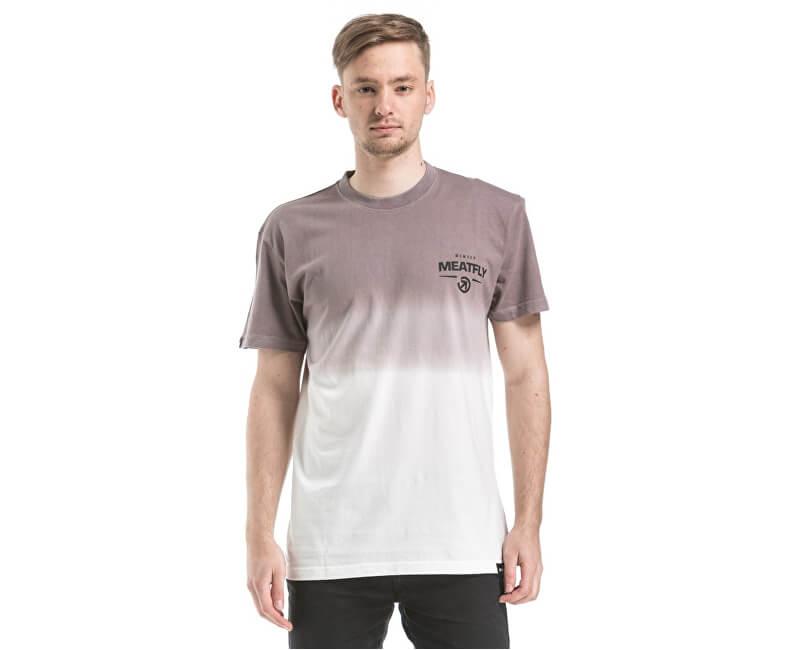 Meatfly Triko Spill T-shirt C - White