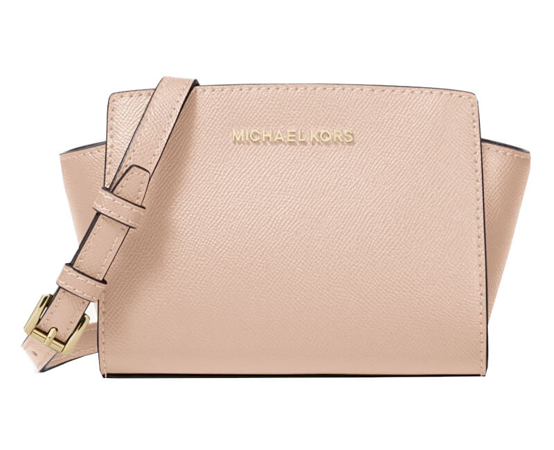Michael Kors Elegant Selma Mini Saffiano Leather Crossbody Pink