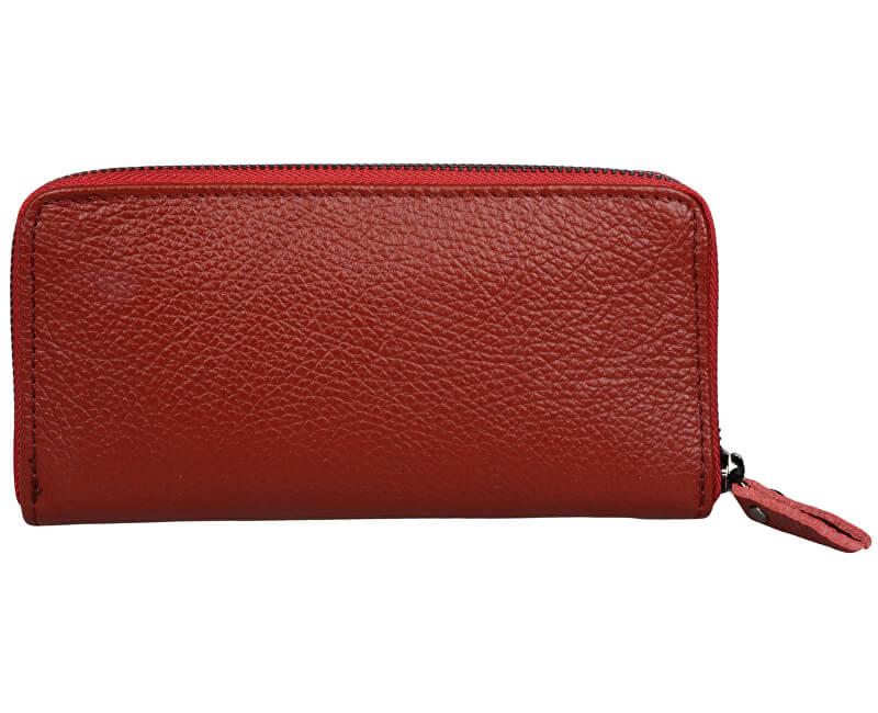 Mangotti Elegant portofel din piele 1138 Vino