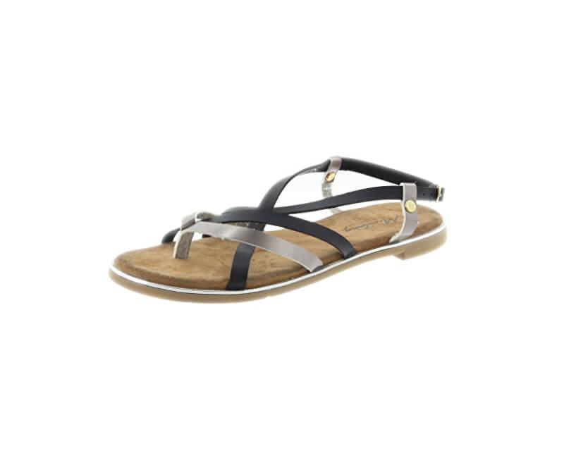 Mustang Dámské sandále 1308804-989 Schwarz/Bronz