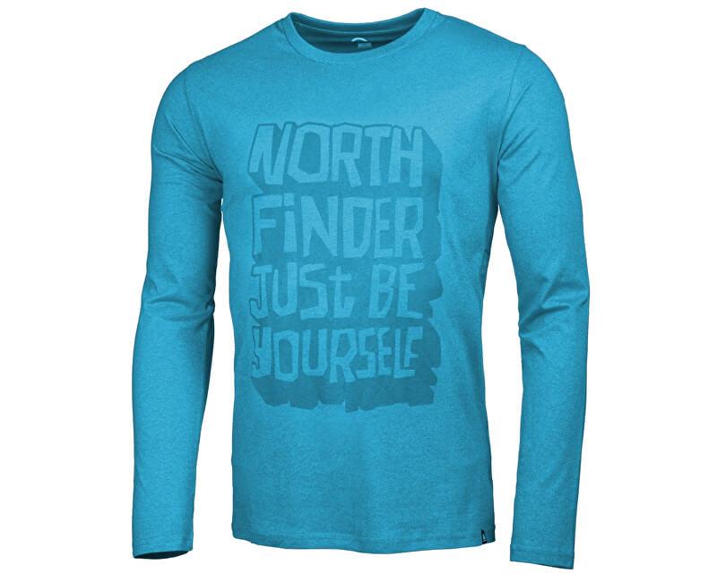 Northfinder Pánské triko s dlouhým rukávem Fausto Ocean TR3263SNW-4953