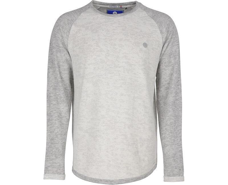 Noize Shirt pentru bărbați cu mâneci lungi, de culoare alb murdar 4412105-00