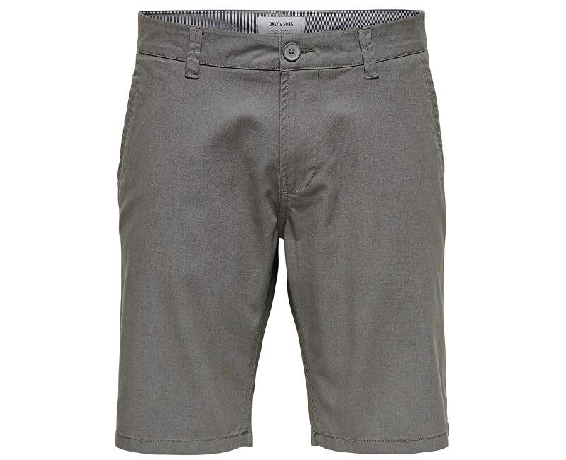 ONLY&SONS Pánske kraťasy Cam Chino Shorts Entry Re Castlerock