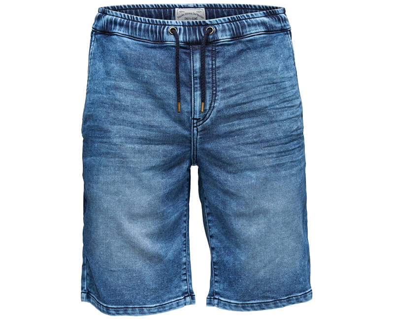 59387bda452d ONLY&SONS Linus Jog Shorts Blue Pk férfi sort 9062 Blue Denim Akcióban