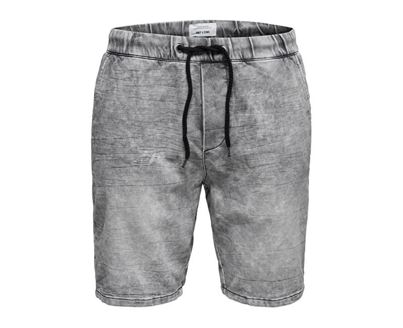 ONLY&SONS Pánske kraťasy Rod Short s Sw Grey Pk 2456 Grey Denim