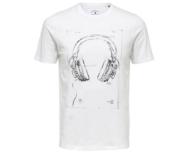 ONLY&SONS Pánske tričko Patrik Slim Tee Eq 3153 Bright White