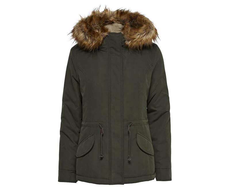 ONLY Dámská bunda New Lucca Parka Jacket Otw Peat