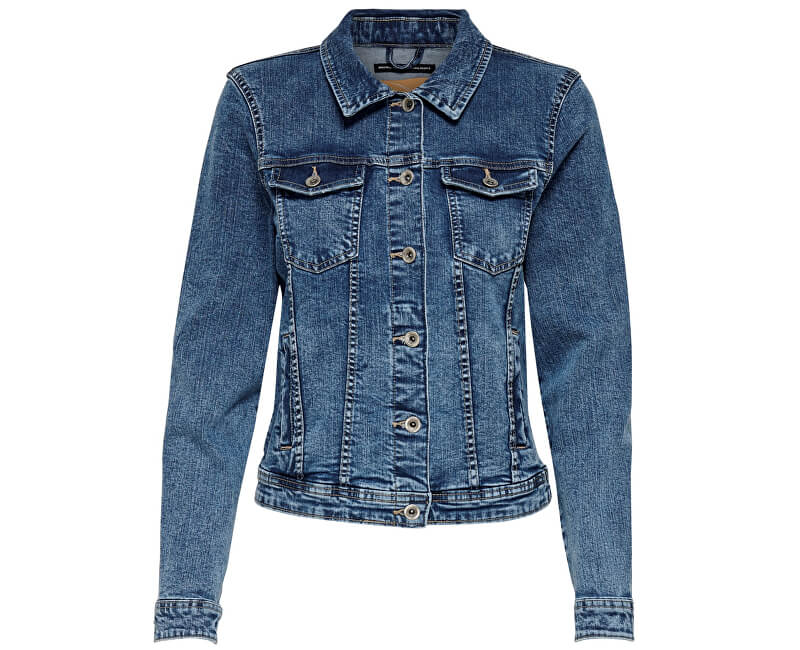 ONLY Dámska bunda Tia Dnm Jacket Bb Mb Bex02 Medium Blue Denim