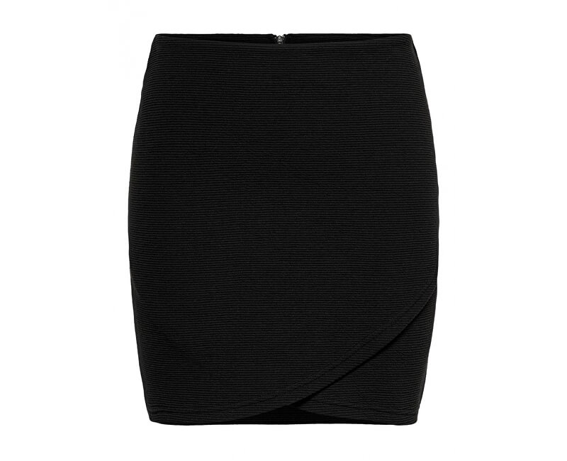 ONLY Dámska sukňa Floria Short Skirt Swt Black