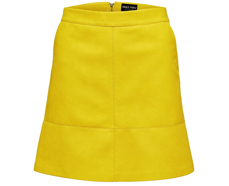 ONLY Dámska sukňa Nima Faux Leather Skirt Otw Solar Power