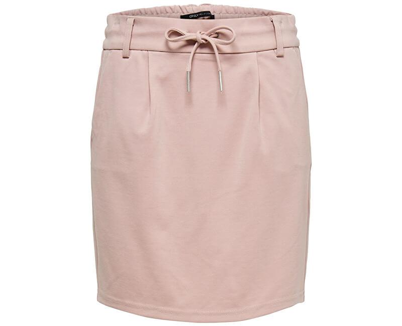 ONLY Dámska sukňa Poptrash Easy Skirt Pnt Noos Pale Mauve