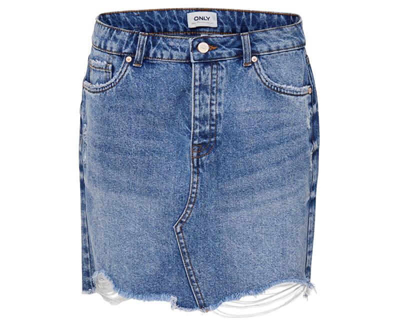 ONLY Dámska sukňa Sky Reg Dnm Skirt Bb Pim992 Light Blue Denim