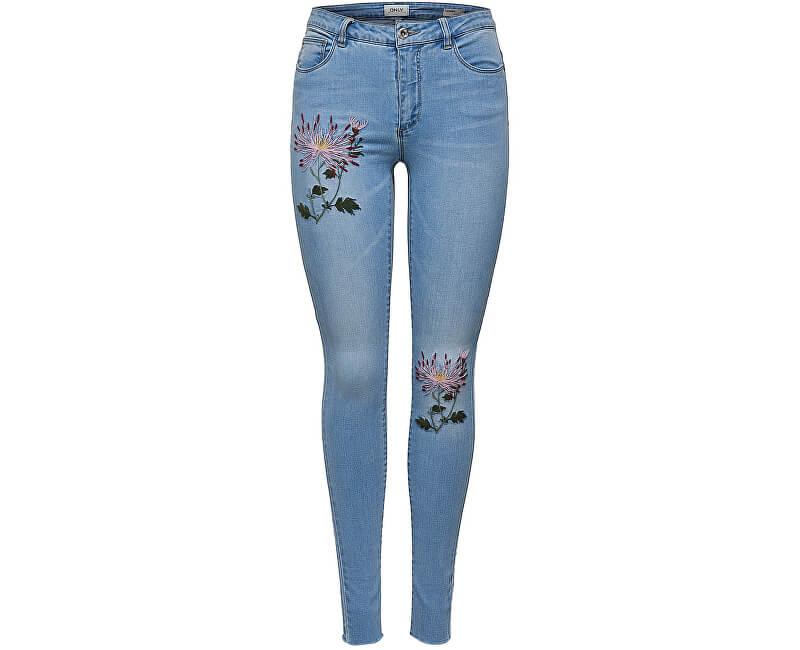 8457989c0e9 ONLY Dámské džíny Carmen Reg Sk Emb Dnm Jeans Bj8908