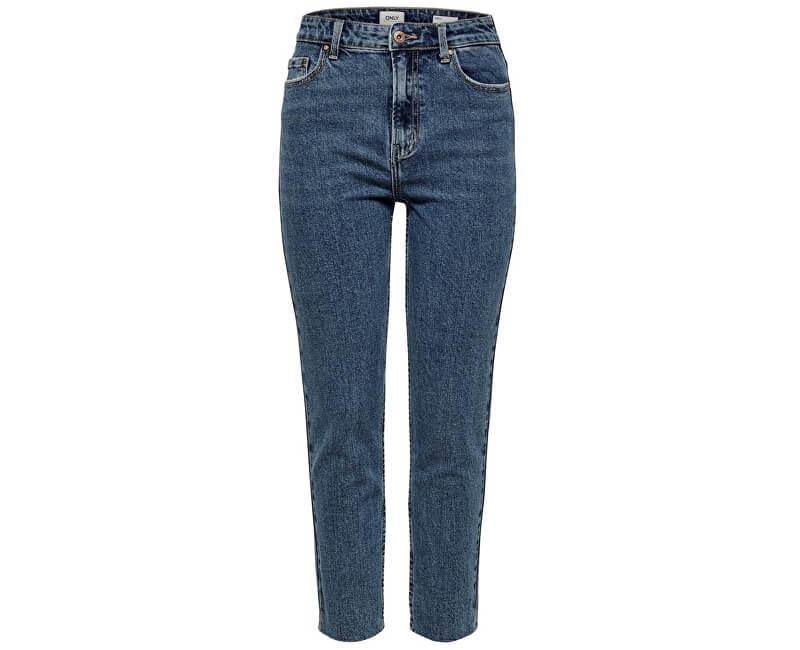 cca5969a6c0 ONLY Dámské džíny Emily Hw St Raw Ank Db Mae 0005 Noos Dark Denim Blue  Novinka
