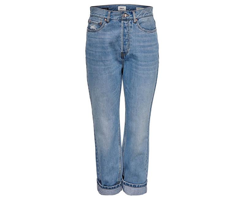 ONLY Jeans ONLHALEY HW ANKLE JEANS BJ14666 Light Blue Denim