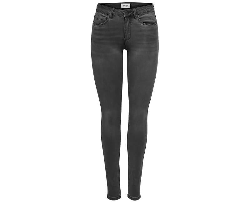 ONLY Dámske džínsy Royal Reg CZ DNM Jeans BJ312 Noosa Dark Grey Denim 34