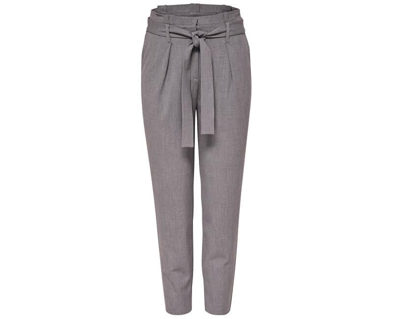 38d95d1550 ONLY Dámske nohavice Nicole Paperbag Ankle Pants Wvn Noosa Light Grey