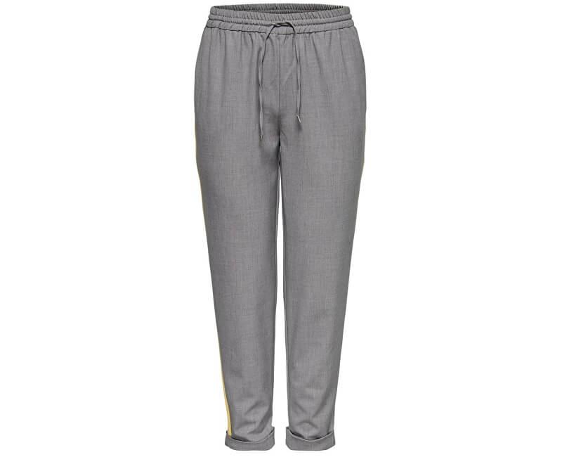 ONLY Dámské kalhoty Roma Panel Pants Tlr Light Grey
