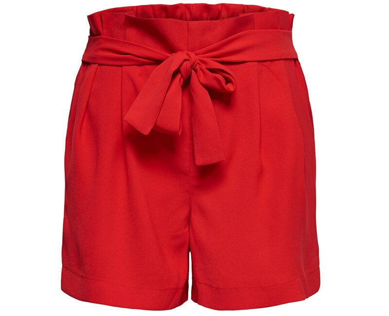 ONLY Dámske kraťasy New Florence Shorts Pnt High Risk Red