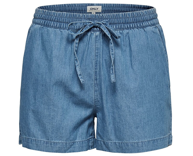 ONLY Dámske kraťasy Pena Dnm Shorts Box Light Blue Denim