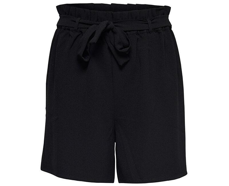 ONLY Dámske kraťasy Turner Paper Bag Shorts Wvn Noos Black