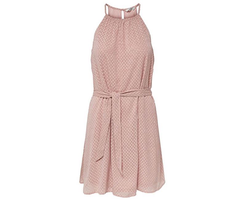 ONLY Dámske šaty Fifi S/L Short Dress Wvn Misty Rose