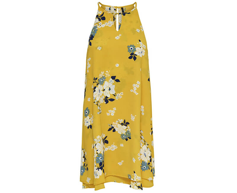 ONLY Dámske šaty Mariana Myrina S/L Dress Noos Wvn Vibrant Yellow