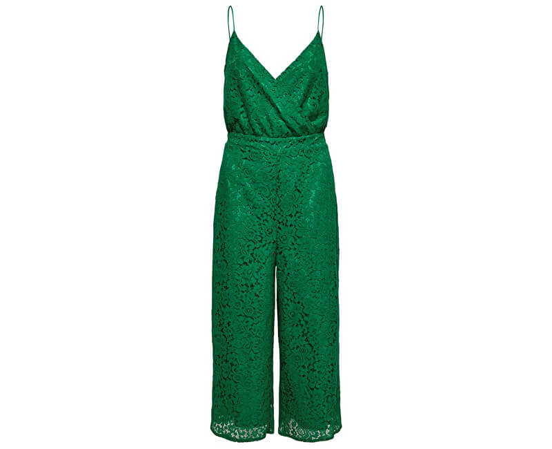 ONLY Dámsky overal Cassia Strap Cropped S/L Jumpsuit Wvm Ultramarine Green