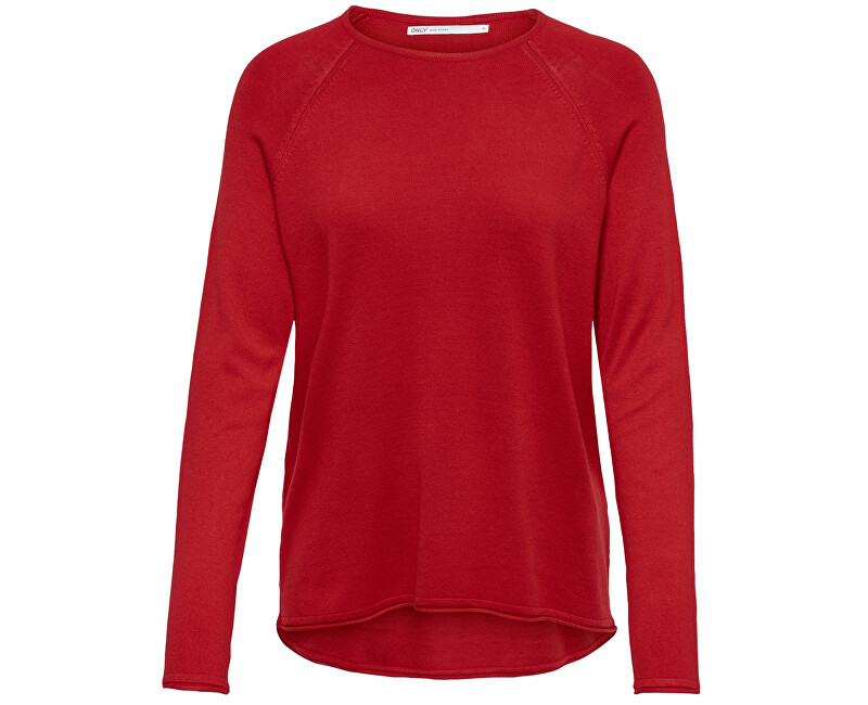 bae0072e58 ONLY Női pulóver Mila Lacy L/S Pullover Knt Noos High Risk Red ...