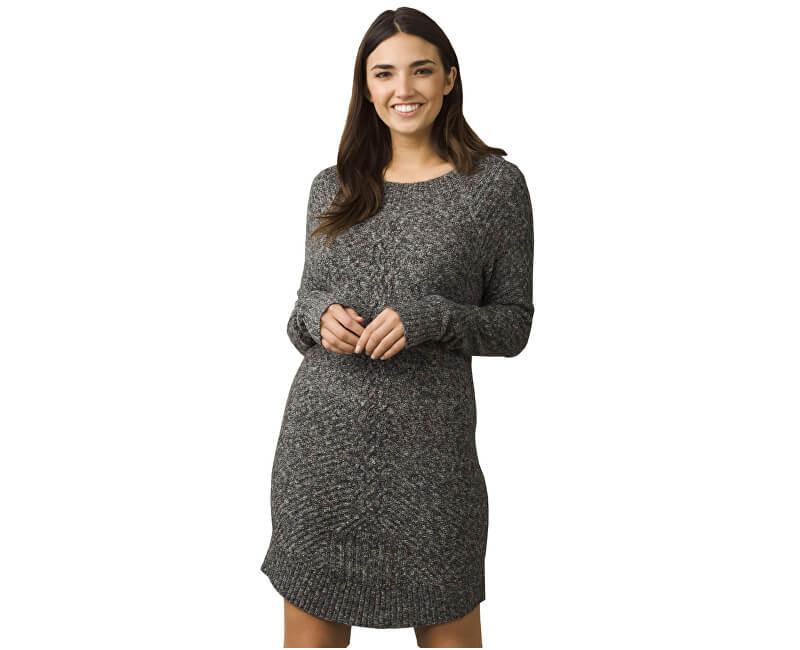 Prana Dámské šaty Cadwell Dress Coal