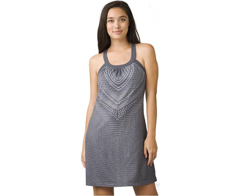 8ec24d7148 Prana Dámske šaty Cantine Dress Charcoal Synergy - ZĽAVA až 21 ...