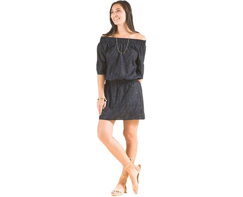 31584a5b25 Prana Dámske šaty Lenora Dress Black Sprinkle - ZĽAVA až 28