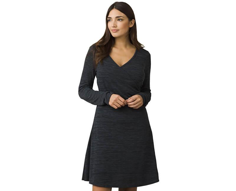 Prana Dámské šaty Nadia Dress Charcoal