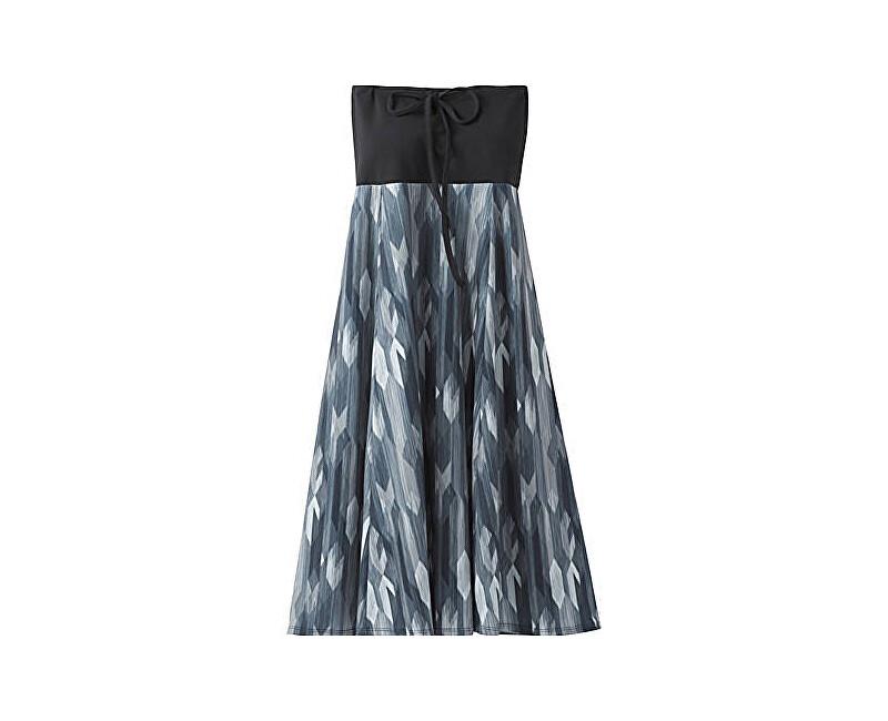 Prana Rochie Solana Dress Charcoal Gemstone