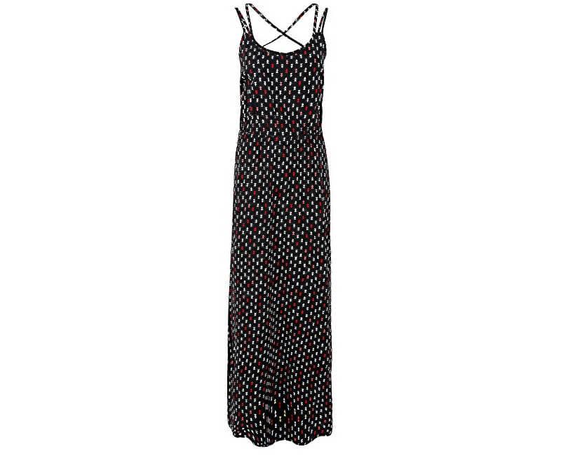 Q S designed by Dámské dlouhé vzorované šaty ... a23e9fbba2