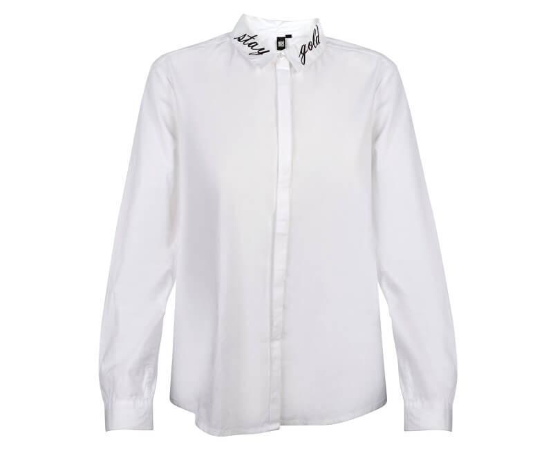 Q/S designed by Dámská košile 41.709.11.8110.0100 White