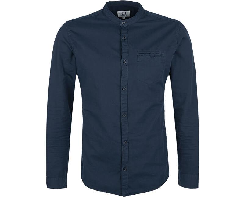 Q/S designed by Pánská košile 40.711.21.6026.5978 Blue