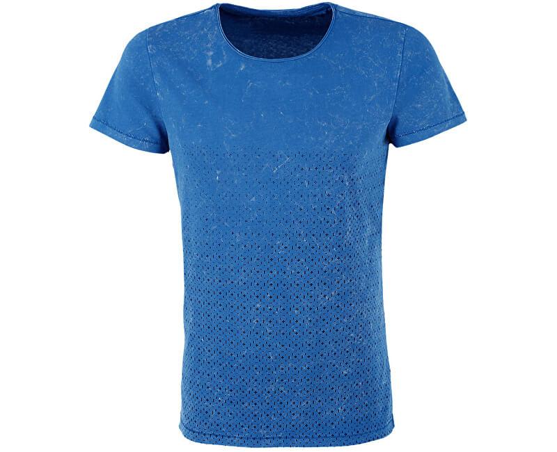 afa45d46f6ac Q S designed by Pánské modré tričko s 1 2 rukávem ...