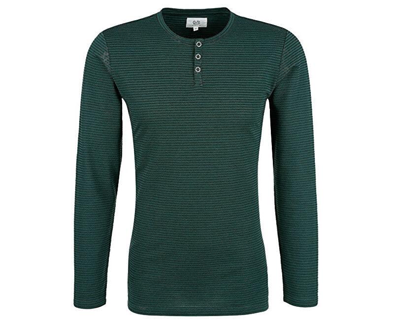 Q/S designed by Pánské triko 40.709.31.6010.79G0 Green