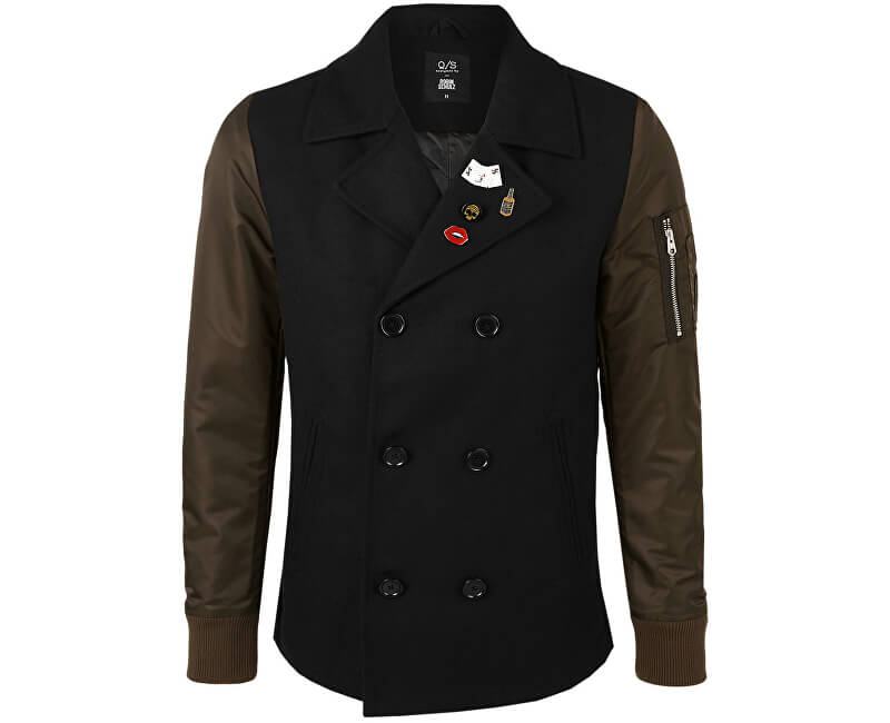 26c97f11f8 Q S designed by Pánsky kabát 40.709.52.4768. 9999 Black