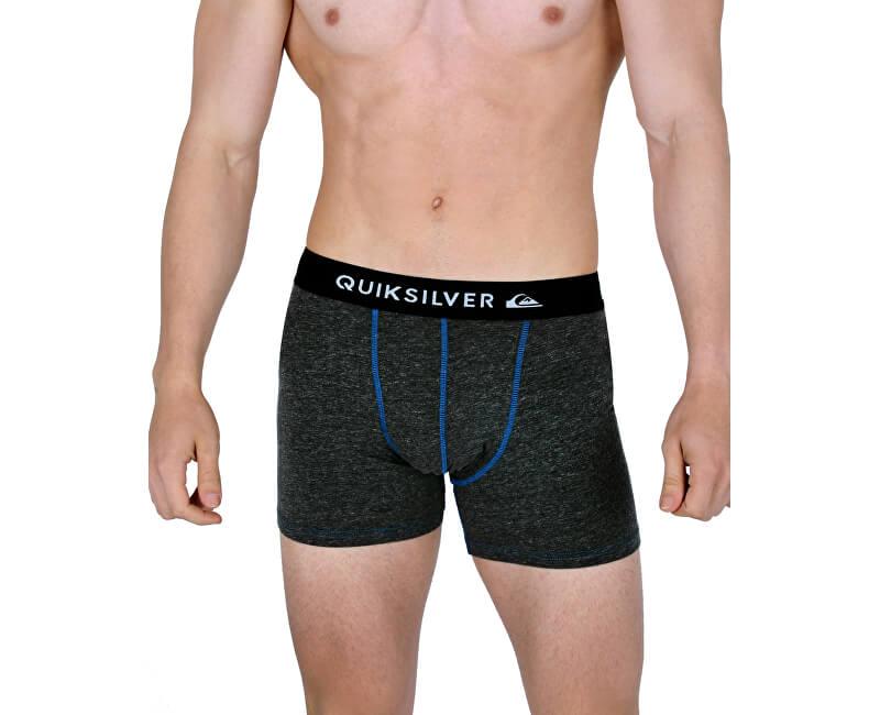Quiksilver Boxerky Boxer Edition Dark Charcoal Heathe EQYLW03022-KYFH