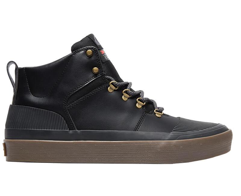 Quiksilver Kotníkové boty Grebe Black/Grey/Brown AQYS300076-XKSC