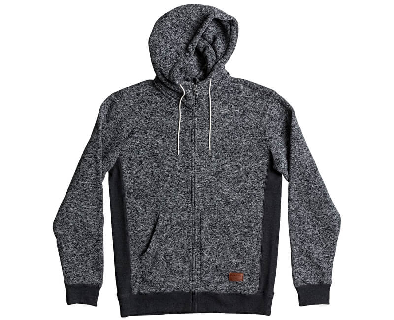 Quiksilver Mikina Kellerzip Dark Grey Heather EQYFT03661-KTFH