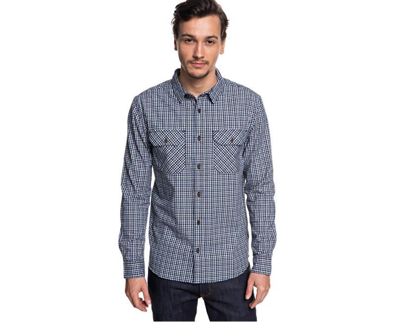 Quiksilver Pánská košile Fuji View Black Fuji View EQYWT03719-KVJ1